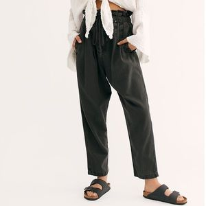 Free People Margate Pleated Trouser - Small